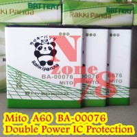 BATERAI MITO A60 BA-00076 FANTASY-U RAKKIPANDA DOUBLE POWER