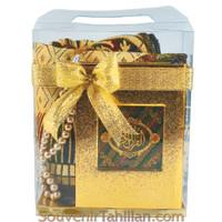 Parcel Souvenir Sajadah Dewasa Alydrus Al Quran Tilawah Kecil Tasbih