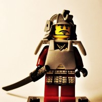 Lego Original Minifigure Samurai Warrior Series 3