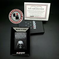 korek hemat keren murah unik model zippo Star Wars Darth Vader