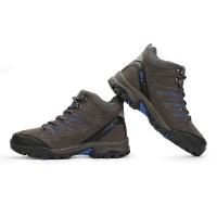 Sepatu Gunung SNTA 475 Grey Blue Boot / Hiking / Trekking / Outdoor