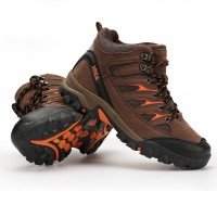 Sepatu Gunung SNTA 475 Brown Orange Boot / Hiking / Trekking / Outdoor
