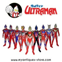 Action Figure Mainan Ultraman Allstar Heroes