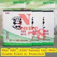 BATERAI MITO A80 FANTASY LITE BA-00098 DOUBLE POWER PROTECTION