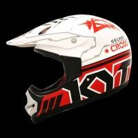 Helm Trail KYT Cross Pro #8 Red