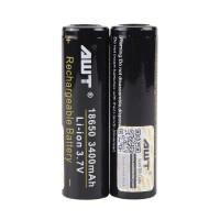 Battery Awt 18650 3400mah Black / Hitam