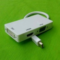Kabel Mac Book Converter Thunderbolt to HDMI ,VGA, DVI ( Macbook )