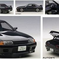 1/18 AUTOART NISSAN SKYLINE GTR R32 INITIAL D NO KYOSHO MINICHAMPS