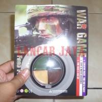 Face Paint CAT WAJAH untuk WAR GAME, Airsoftgun, Berburu, Militer, TNI