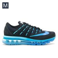 Sepatu Wanita Nike Air Max 2016 Black Blue Women Original