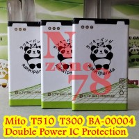 Baterai Mito T300 A220 T510 Double Power Protection