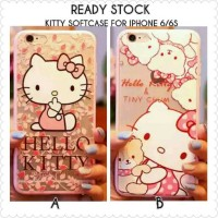 Jual Casing Iphone 6/6s | Softcase Iphone 6/6s Kitty Murah