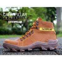 Sepatu Caterpillar Safety Boots Foundation Tan
