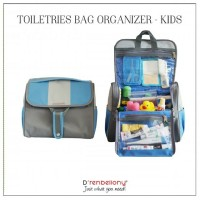 harga Toiletries Bag Organizer Kids D'renbellony - Dolphin Blue Tokopedia.com