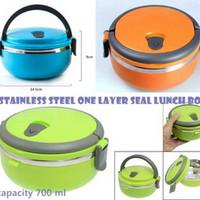 Lunch Box Susun 1 - Rantang Stainless Steel Kedap Udara