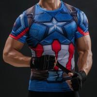 Jual KAOS COSPLAY Captain America Shield Civil War Murah