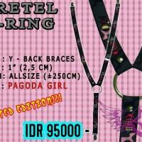 Bretel (Y) Y-Ring Motif Pagoda Girl