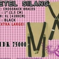 Bretel (X) Silang XL Black