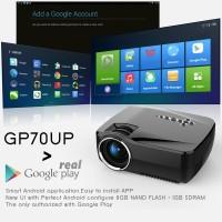 Proyektor Android GP70UP Projector Portable Terbaik Infokus Murah Top
