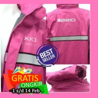 harga Jas Hujan Pink Axio Europe Original Mantel mantol aksesoris Motor ori Tokopedia.com