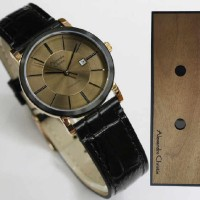 harga Jam AC Alexandre CHristie 8344 Gold Tali Kulit Couple Original Tokopedia.com