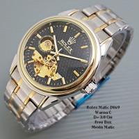 Jam Tangan Pria / Jam tangan Murah Rolex Oyster Perp Combi In Black