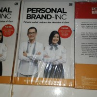 Personal Brand Inc Rahasia Untuk sukses dan bertahan di karir HC + DVD