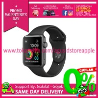 Apple Watch Series 2 - 38mm Aluminium Sport Black MP0D2 Garansi Resmi