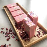 Oatmeal + Coconut Milk Natural Soap/Sabun Handmade Alami