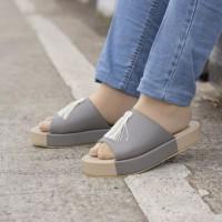harga Sepatu Sandal Wanita Azcost Flate Casual Girly Asli Buatan Anak Negeri Tokopedia.com