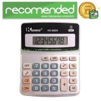 Kenko Kalkulator Elektronik Office Calculator - KK-900A - Black/Silver