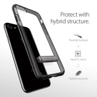 Jual iPhone 7 Case Spigen Ultra Hybrid S - Jet Black Murah