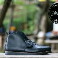 Bradleys Sepatu Boots Pria Original Kulit Full Up