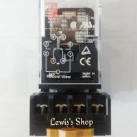 harga Relay Omron Mks2p 220 Volt + Socket (original) Tokopedia.com