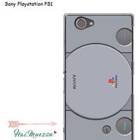 custom case / hardcase / sony xperia z1 compact / docomo playstation 1