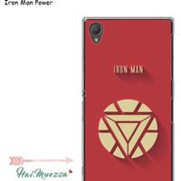 custom case / hardcase / sony xperia z1 / docomo iron man power