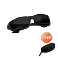 Kacamata Night Driving Glasses Grade AAA - Free Hard Case