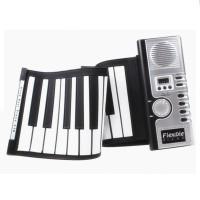 Piano Keyboard Lipat Portable Digital Roll Up Soft 61 Key with Midi