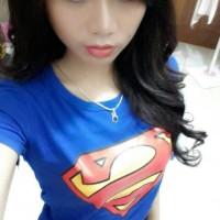 TUMBLR TEE / T-SHIRT / KAOS SUPERMAN logo WI 030118