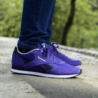 Sepatu Reebok Royal Classic Jogger 2 Purple Original