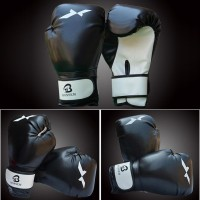 Sarung Tangan Tinju Boxing Muaythai MMA Tebal bahan Kulit