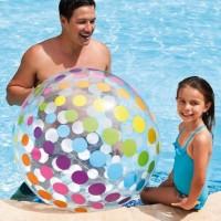 Intex Jumbo Beach Ball. Bola Mainan Anak Di Kolam Renang/Pantai