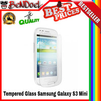 [hot] Original Tempered Glass Samsung Galaxy S3 Mini 2.5d Curved Edge