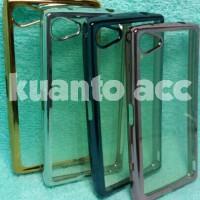 Case Chrome Sony Xperia Z5 mini /TPU/Softcase/Ultrathin Murah