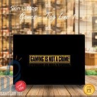 Garskin/Stiker/Skin Laptop Kata kata/ Slogan / Tag line