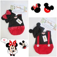 Jual Bukan Romper Next tp Kostum Bayi Anak Mickey Minnie Mouse Donald Lucu Murah