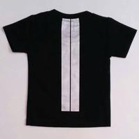 Baju Setelan Anak Laki Cowok Kaos Awan Cloud Camera Hitam Celana Garis