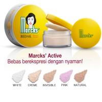 Marcks Bedak Active Creme / Pink / Rose / Invisible / Natural Beige