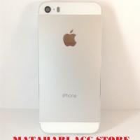 CASING IPHONE 5 5S / BACK COVER FULL HOUSING/ BACK DOOR WHITE