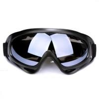 Kacamata Goggle Outdoor Airsoft Army Ski Tempur Windproof Survival